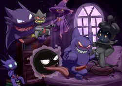 7boys anal anal_sex anthro anus ass banette bed big_ears blush cum cum_on_penis erection fangs fingering floating foreskin gastly gay gengar ghost group group_sex handjob haunter inside interspecies johawk legendary_pokémon looking_back looking_down male male_only marshadow masturbation middle_finger mismagius navel nintendo nude on_bed open_mouth oral orgasm orgy penetration penis pillow pointy_ears pokémon_(species) pokemon pokemon_dppt pokemon_rse pokemon_sm precum presenting presenting_anus presenting_hindquarters raised_leg red_eyes rimming sableye sex sharp_teeth sitting smile spirit spread_legs spreading standing teeth testicles tongue tongue_out uncut veins veiny_penis video_games zipper zipper_mouth