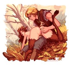 animated ass female fingering male pubic_hair pussy pussy_juice satyr straight walnusstinte