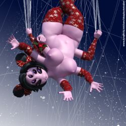 3d_(artwork) anthro arachnid arthropod digital_media_(artwork) idsaybucketsofart muffet spider undertale video_games