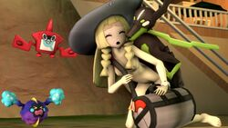 1boy 1girl 3d animated bag bestiality blonde_hair braid braids breasts canine cosmog devilscry doggy_style duo female feral furry hat human human_on_feral interspecies lillie_(pokemon) long_hair male male_domination mammal nintendo nipples no_sound nude open_mouth penetration pokemon pokemon_sm pokephilia rotom rotom_pokedex sex source_filmmaker straight twin_braids vaginal_penetration video_games webm white_hat zoophilia zygarde zygarde_10_form