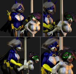 batmilf bondage cgi comic decoy deedonis female helpless heroine incest masked mother_and_daughter penetration rape strapon superheroine
