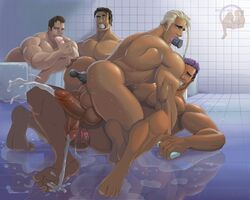 4boys absolutbleu anal anus ass backsack balls bara bath cock-tail cum cum_while_penetrated cumshot dildo erection huge_balls huge_penis human ice_cream kissing large_ass licking male male_on_male maledom malesub multiple_boys muscle muscular_male nude penis pool sex sex_toy shower soap solo suck tagme yaoi
