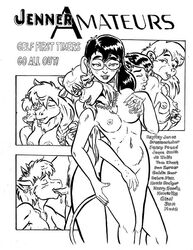 antelope anthro balls bear bedroom_eyes braided_hair breast_grab breasts buckteeth canine cervine chest_tuft closed_eyes covering covering_crotch dreamcatcher_(style_wager) ear_piercing eyewear faceless_male fellatio female freckles glasses goldie_bear grabbing_from_behind group hair half-closed_eyes hand_on_breast human human_on_anthro interspecies jaque_smith jewelry long_hair looking_back male mammal monochrome moose mouse musa_blackhoof necklace oral penis penny_pound piercing pubes rodent seductive sex smile straight teeth text tuft wolf yuri