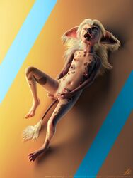 3d_(artwork) anthro areola canine canine chinese_crested_dog claws clitoral_fingering clitoris closed_eyes digital_media_(artwork) digitigrade erect_nipples female finger_fuck fingering hindpaw jinjing-yu lying mammal masturbation multi_nipple nipples nude on_back open_mouth pawpads paws photorealism presenting presenting_pussy pussy sharp_teeth solo spread_legs spreading tchaikovsky2 teeth toe_claws vaginal_masturbation vaginal_penetration