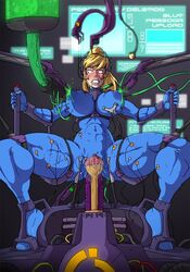 abs alternate_version_available anal bad_end body_modification bodysuit bondage brainwashing breast_expansion breasts clenched_teeth clothed corrupted corruption deep_penetration double_penetration edit endured_face female game_over human hypnosis injection machine metroid mind_break mind_control mind_fuck nintendo restrained saliva samus_aran sex_machine solo sparrow spread_legs stomach_bulge syringe text vaginal_penetration zero_suit