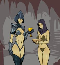 animated armor bikini breasts chalice cum cum_on_breasts cum_on_face cum_on_upper_body cumshot cup facial futa futa_with_female futanari gauntlet gif glove helmet izra mirialan oppai seventh_sister slideshow star_wars star_wars_rebels xizrax