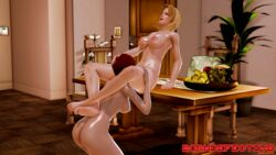 cunnilingus dead_or_alive doa mila oral oral_sex pussy_licking tina_armstrong yuri