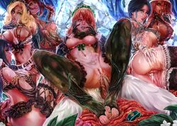 6+girls anal armpits black_hair blonde_hair bra breastless_clothes breasts camouflage crotchless crotchless_clothes crotchless_panties cum cum_in_ass cum_in_pussy cumdrip cupless_bra cz2128_delta entoma_vasilissa_zeta eyepatch glasses gloves green_nails hair_bun hat large_breasts lingerie long_hair lupusregina_beta maid maid_headdress mightyhonk multiple_girls nail_polish narberal_gamma nippleless_clothes nipples overlord_(maruyama) panties penis pussy red_hair revealing_clothes scarf sex solution_epsilon spread_legs tattoo thighhighs toes underwear underwear_only yellow_eyes yuri_alpha