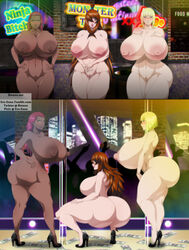 big_breasts ero-enzo huge_ass huge_breasts karui mei_terumi naruto samui