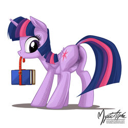 alicorn anatomically_correct anatomically_correct_pussy animal_genitalia animal_pussy anus book cutie_mark dock equine equine_pussy feathered_wings feathers female feral friendship_is_magic fur hair hi_res horn mammal multicolored_hair my_little_pony mysticalpha puffy_anus purple_eyes purple_feathers purple_fur purple_hair pussy simple_background solo twilight_sparkle_(mlp) two_tone_hair white_background wings