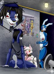 animatronic bonnie_(fnaf) breasts canine chica_(fnaf) fan_character female five_nights_at_freddy's five_nights_at_freddy's_2 foxy_(fnaf) freddy_(fnaf) libra_(artist) machine mammal mangle_(fnaf) robot toy_bonnie_(fnaf) video_games