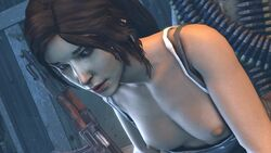 3d animated female from_behind interracial lara_croft male moaning sound tomb_raider unidentifiedsfm webm