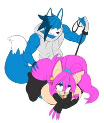 ahe_gao all_fours armwear ass bat bent_over bessi_the_bat big_breasts breasts butt_grab canine clothing doggy_style duo elbow_gloves fan_character female from_behind_position gloves hand_on_butt huge_breasts leash legwear looking_pleasured male mammal nipples rav ryzo_the_wolf sex sonic_(series) thigh_highs tongue wide_hips wolf
