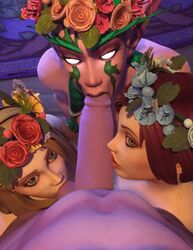 3d 3girls animated ball_sucking foursome human mystmantle night_elf oral tagme warcraft webm world_of_warcraft