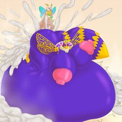 ambiguous_penetration arthropod ass balls bee belly big_balls big_belly big_breasts big_butt breasts chest_tuft cum duo excessive_cum feather_boa female half-closed_eyes heart huge_balls huge_breasts huge_butt hyper hyper_areola hyper_balls hyper_belly hyper_breasts hyper_butt hyper_nipple hyper_penis inflation inflation insect_abdomen insect_wings insects kirby_(series) male male/female moth nintendo nipples penetration penis pink-areola pink_nipples queen_sectonia senos stomach_bulge tuft vein veiny_penis video_games wings