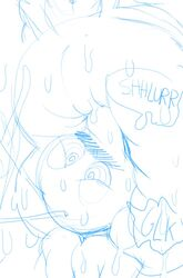 anilingus ant anus blush deep_rimming face_in_ass hypnosis insects justmegabenewell male_focus onomatopoeia sketch sketchdump sweaty_anus swollen_anus