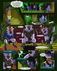 4boys ambush backpack being_watched belly big_penis big_testicles black_penis black_skin blue_eyes blue_fur chubby clenched_teeth clothed clothing comic erection flaccid forced forest furry gay green_background helmet holding hud imminent_rape imminent_sex interspecies jaykasai koala licking_lips looking_back looking_down male male_only mammal marsupial masturbation monkey neck_grab nintendo nude open_mouth orange_eyes original_character passimian penis pokémon_(species) pokemon pokemon_sm primate rape red_fur shirt shoes shorts smile standing stripes tail tears teeth testicles text tongue video_games vines white_fur wide_hips wince yaoi yellow_sclera