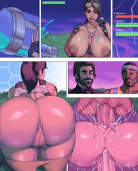 2boys all_fours anal anal_insertion anus ass ass_juice ass_up balls bangs bbc bent_over big_ass big_breasts big_penis breasts breasts_outside bubble_butt comic cum cum_in_pussy cum_inside dark-skinned_male dark_skin doggy_style double_penetration drunk exposed_breasts female fingerless_gloves fortnite gangbang gigantic_ass happy_sex huge_ass huge_balls huge_breasts huge_cock hyperion_(character) imminent_sex interracial jay-marvel latina lipstick male mating_press mmf_threesome multiple_boys multiple_penises muscular muscular_male nipples pants_down penetration penis ponytail presenting presenting_hindquarters presenting_pussy pubic_hair pussy pussy_juice ramirez sex shiny_skin smile straight swinging_balls teasing thick_lips thick_penis thick_thighs threesome tight_fit tongue vaginal_penetration video_games wet wide_hips