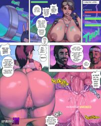 2boys all_fours anal anal_insertion anus ass ass_juice ass_up balls bangs bbc bent_over big_ass big_breasts big_penis breasts breasts_outside bubble_butt comic cum cum_in_pussy cum_inside dark-skinned_male dark_skin doggy_style double_penetration drunk exposed_breasts female fingerless_gloves fortnite gangbang gigantic_ass happy_sex huge_ass huge_balls huge_breasts huge_cock hyperion_(character) imminent_sex impregnation interracial jay-marvel latina lipstick male mating_press mmf_threesome multiple_boys multiple_penises muscular muscular_male nipples pants_down penetration penis ponytail presenting presenting_hindquarters presenting_pussy pubic_hair pussy pussy_juice ramirez sex shiny_skin smile straight swinging_balls teasing text thick_lips thick_penis thick_thighs threesome tight_fit tongue vaginal_penetration video_games wet wide_hips