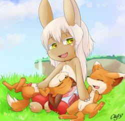 adult anthro feral fox made_in_abyss nanachi narehate pets