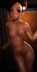 dead_or_alive lisa_hamilton naked nipples no_bra otto pussy uncensored
