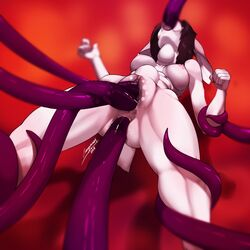 2018 4_toes all_three_filled anal anal_sex anthro arm_grab ass bed big_breasts black_hair breasts bubble_butt cenegan024 clenched_teeth digital_media_(artwork) double_penetration female fist foot_play forced fur hair katy_(werevixen) lagomorph leg_grab mammal multicolored_fur navel neck_bulge open_mouth oral oral_penetration pawpads penetration pink_fur pink_nose purple_tentacles pussy rabbit restrained solo spreading stomach_bulge story story_in_description teeth tentacle toes two_tone_fur urethral urethral_penetration vaginal_penetration vaginal_penetration voluptuous white_fur