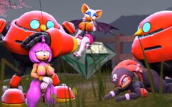 2boys 3d 3d_(artwork) 3girls all_fours ambiguous_penetration amy_rose anthro areolae ass_up bat bat_wings bent_over big_breasts black_nose blue_eyes bodysuit breasts breasts_outside clitoris clothing crossed_legs doggy_style echidna egg_pawn emerald erect_nipples erection female finger_to_mouth gloves green_eyes group hand_on_head hedgehog high_heels huge_breasts kneeling large_breasts legs lipstick male mammal master_emerald membranous_wings monotreme multiple_boys multiple_females multiple_girls multiple_males nipples nude open_mouth orange_fur orange_hair penetration penis pink_fur pink_hair public purple_eyes pussy robianknight robot rouge_the_bat sega sex shade_the_echidna sonic_(series) source_filmmaker straight tan tan_fur technophilia thick_thighs thighhighs thighs white_fur white_gloves white_hair wink