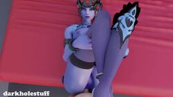3d alternate_costume anal anal_penetration black_lily_widowmaker darkholestuff erection female looking_at_viewer male no_sound overwatch penetration penis pov pussy sex straight webm widowmaker