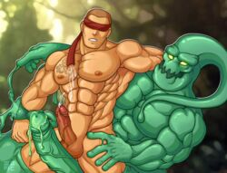 anal dick gay hot league_of_legends lee_sin male penis sex yaoi zac