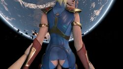 3d animated ass dc erection female from_behind injustice_2 male no_sound penis pov sex sfmfuntime source_filmmaker straight supergirl superman_(series) webm