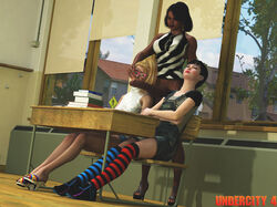 3d dark-skinned_futanari futa_with_female futanari school teacher undercity_4