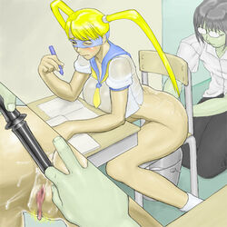 big_breasts bottomless breasts capcom rainbow_mika street_fighter