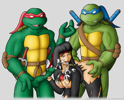 karai leonardo raphael tagme teenage_mutant_ninja_turtles