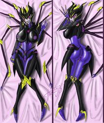 1girl airachnid anus areolae ass breasts dakimakura female grriva nipples pussy robot solo transformers transformers_prime