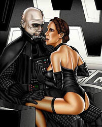 darth_vader father_and_daughter incest princess_leia_organa return_of_the_jedi shabby_blue star_wars