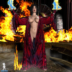 3d avatar_the_last_airbender azula chup@cabra female female_only human solo tagme