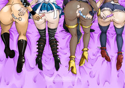 4girls alice_liddell alice_madness_returns all_fours american_mcgee's_alice anal apron asian ass black_hair boots bracelet brown_hair castlevania castlevania:_portrait_of_ruin charlotte_aulin chinese clothed_sex crossover dildo dress ea fire_emblem fire_emblem:_awakening foursome from_above from_behind hand_on_ass high_heels interracial jeshika213 konami loincloth long_hair nail_polish nintendo pai_chan pantyhose pussy pussy_juice pussy_juice_drip sega sex striped_legwear take_your_pick tharja thighhighs torn_pantyhose very_long_hair virtua_fighter wristband yuri