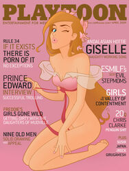 disney enchanted giselle mac_(artist) playtoon
