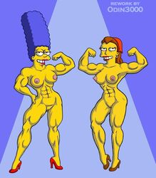 marge_simpson odin3000 ruth_powers tagme the_simpsons
