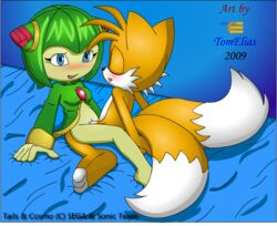 anthro canine clothing cosmo_the_seedrian female fox fur interspecies male mammal nude seedrian sega sex side_view sitting sonic_(series) sonic_x straight tagme tails tom_elias