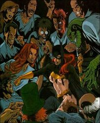 arnold_wesker barbara_gordon batgirl batman_(series) dc killer_croc mad_hatter poison_ivy scarecrow scarface two-face