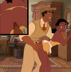 dirtydisneybitches female human male prince_naveen princess_tiana straight tagme the_princess_and_the_frog