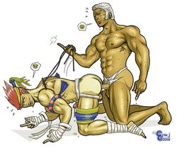 adon capcom human male male_only multiple_males street_fighter tagme urien yaoi