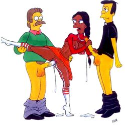 abom manjula_nahasapeemapetilon ned_flanders the_simpsons timothy_lovejoy