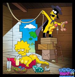 bart_simpson el_barto female human lisa_simpson male straight tagme the_simpsons toon-party