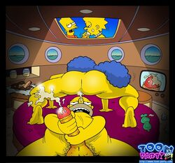bart_simpson female homer_simpson human lisa_simpson male marge_simpson straight tagme the_simpsons toon-party