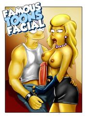 bart_simpson breasts clothes color famous-toons-facial female human lisa_simpson male nipples penis straight tagme the_simpsons