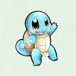 color male male_only nintendo pokemon solo squirtle