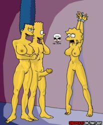 bart_simpson female human lisa_simpson male marge_simpson the_fear the_simpsons