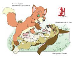 copper disney fennec the_fox_and_the_hound todd